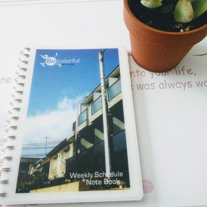 Weekly Schedule Notebook